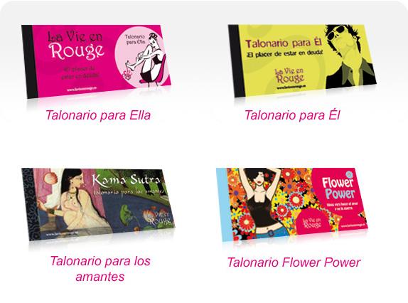 ¿Te gustaría añadir los famosos talonarios de La Vie en Rouge a tu catálogo y distribuir nuestros artículos eróticos?